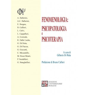 FENOMENOLOGIA: PSICOPATOLOGIA E PSICOTERAPIA
