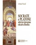 Socrate e Platone nella loro interazione educativa filosofica