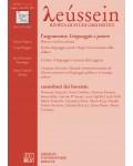 Linguaggio e potere - Leússein anno V n. 2-3/2012