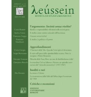 Società senza rischio? - Leússein anno VI n. 1-2/2013