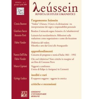 Leùssein (argomento) - Leússein anno I n. 1/2008