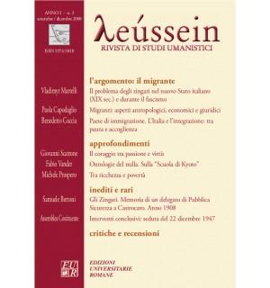 Il migrante - Leússein anno I n. 3/2008