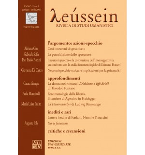 I neuroni specchio - Leússein anno II n. 1/2009