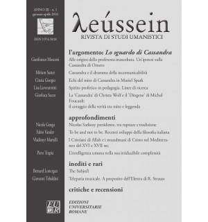 Lo sguardo di Cassandra - Leússein anno III n. 1/2010