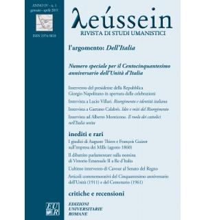 Centocinquantesimo anniversario dell'Unità d'Italia - Leússein anno IV n. 1/2011