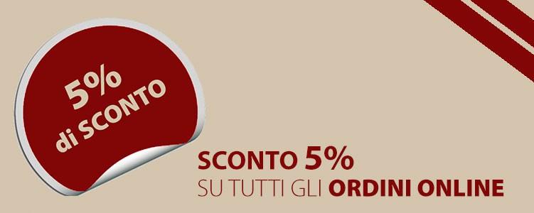 Ordina Online: risparmi il 5%!